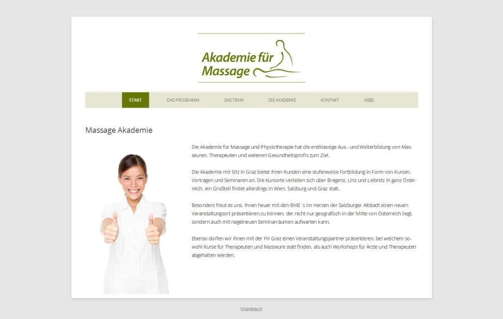 Akademie für Massage