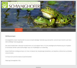 Ökologie & Angewandter Artenschutz